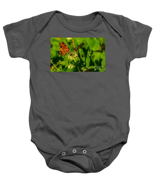 Bluehead Butterfly Baby Onesie