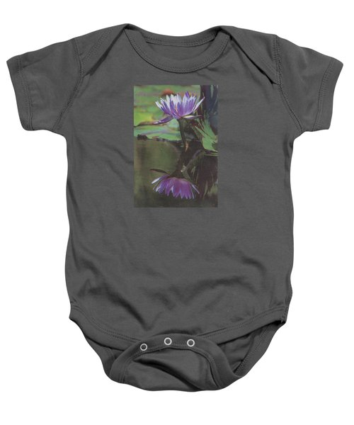 Blush Of Purple Baby Onesie
