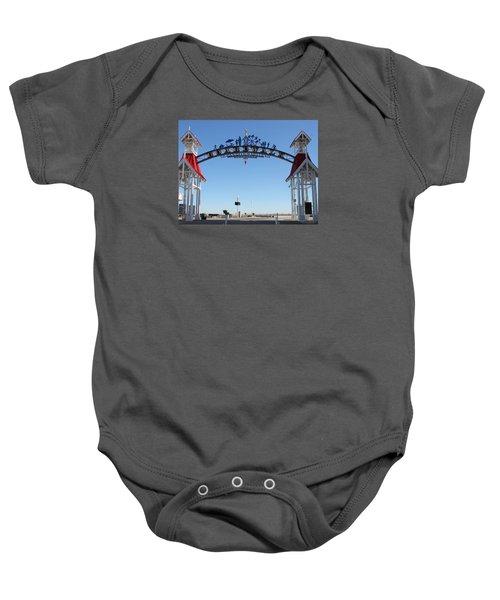 Boardwalk Arch At N Division St Baby Onesie