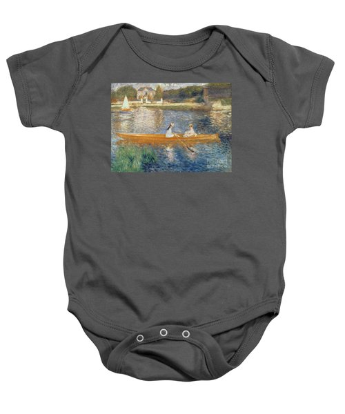 Boating On The Seine Baby Onesie