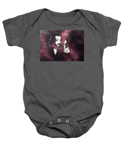 Bogart And Bacall Baby Onesie