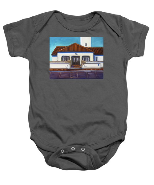 Boise Train Depot Baby Onesie