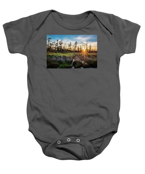 Bonnet Carre Sunset Baby Onesie