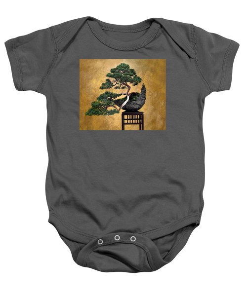 Bonsai 3 Baby Onesie
