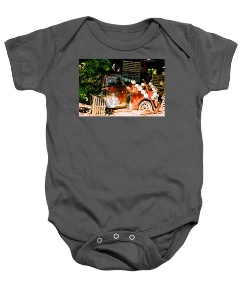 B.o.'s Fish Wagon In Key West Baby Onesie