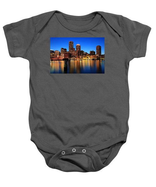 Boston Aglow Baby Onesie