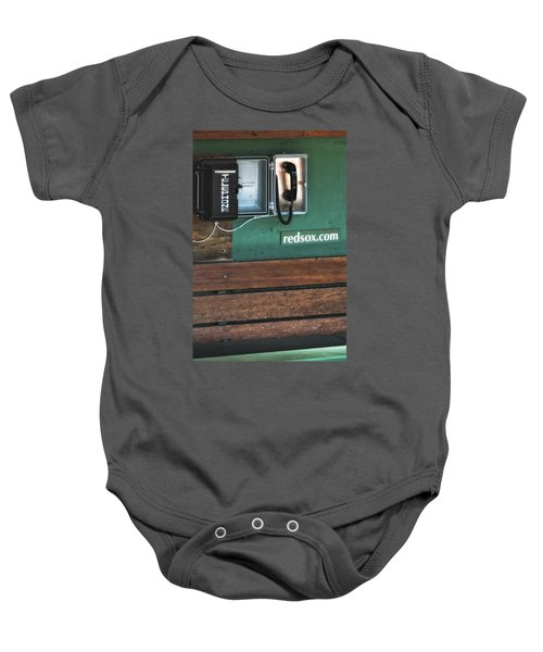 Boston Red Sox Dugout Telephone Baby Onesie