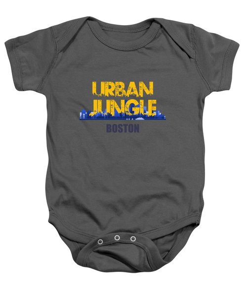 Boston Urban Jungle Shirt Baby Onesie