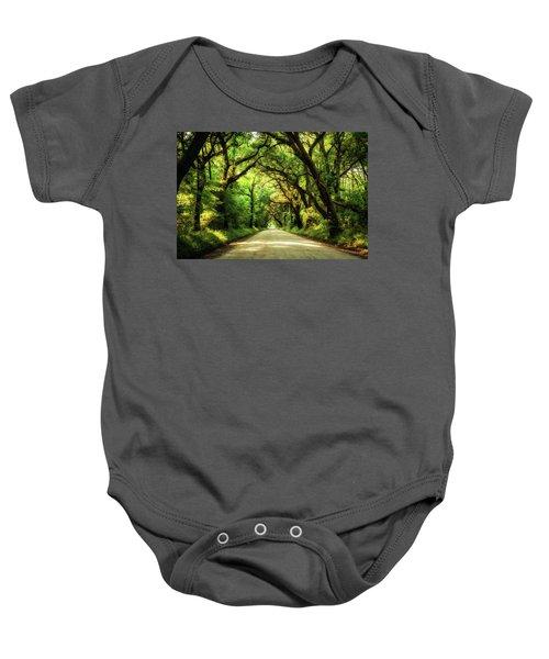 Botany Bay Road Baby Onesie