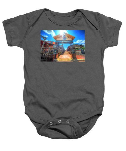 Bottle Cap Alley Baby Onesie