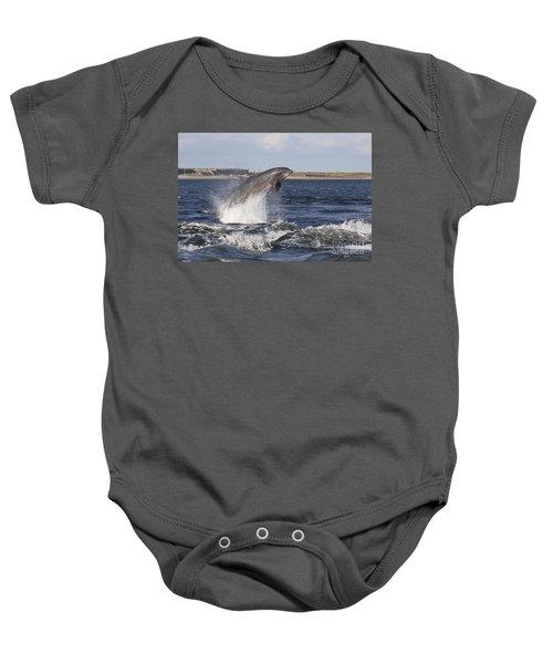 Bottlenose Dolphin - Scotland  #26 Baby Onesie