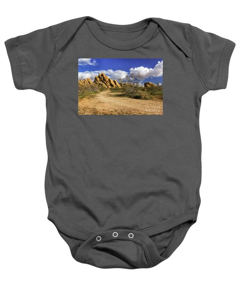 Boulders At Apple Valley Baby Onesie