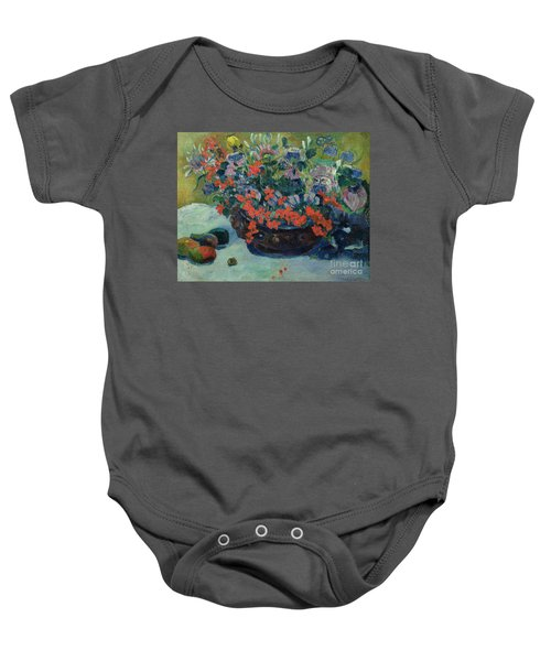 Bouquet Of Flowers Baby Onesie