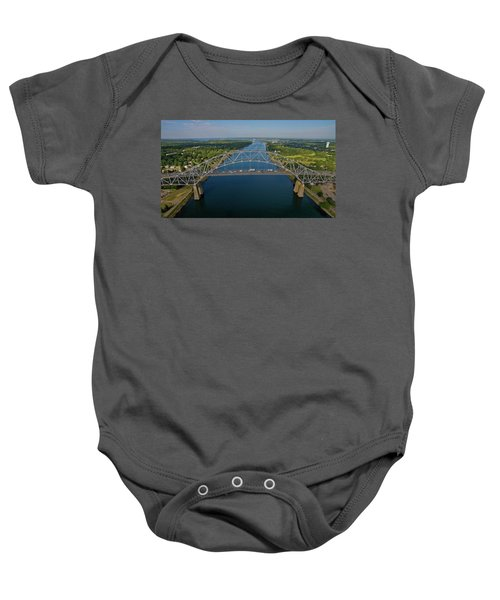 Bourne Bridge, Ma Baby Onesie