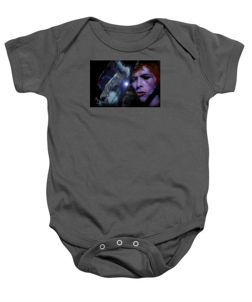 Bowie   A Welcome Star Baby Onesie