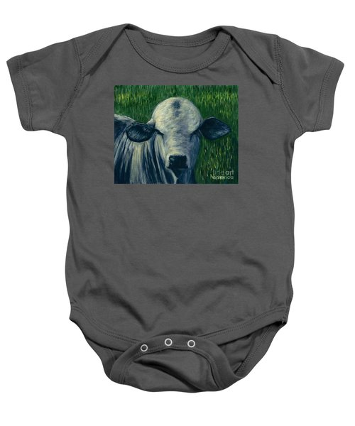 Brahma Bull  Baby Onesie