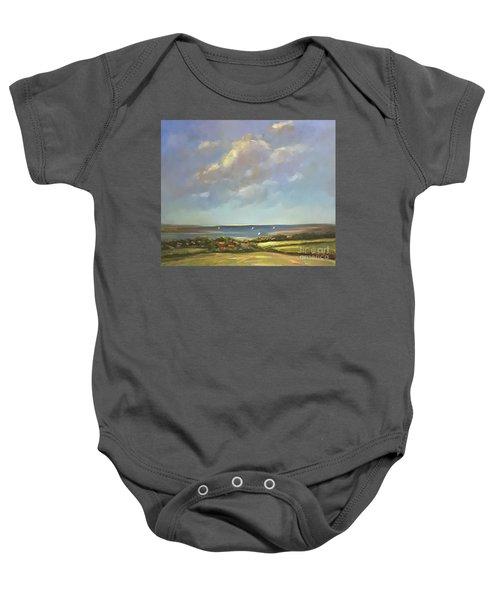 Brancaster Staithes, Norfolk Baby Onesie