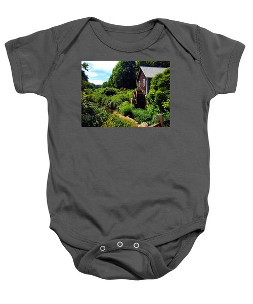 Brewster Gristmill Baby Onesie