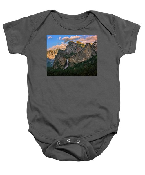 Bridalveil Falls From Tunnel View Baby Onesie