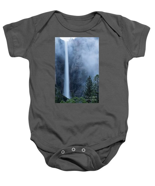 Baby Onesie featuring the photograph Bridalveil Falls by Vincent Bonafede