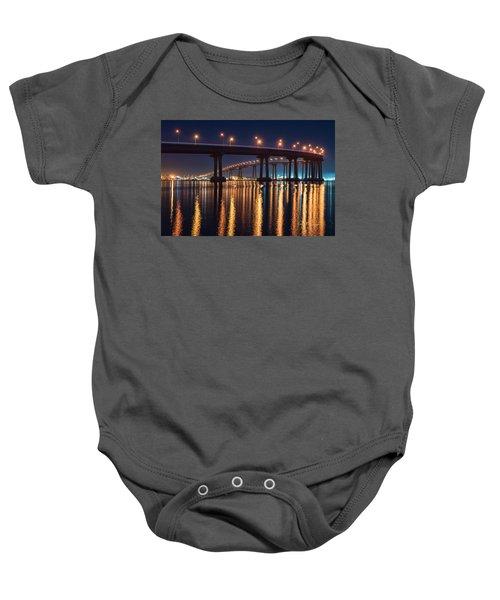 Bridge Bedazzled Baby Onesie
