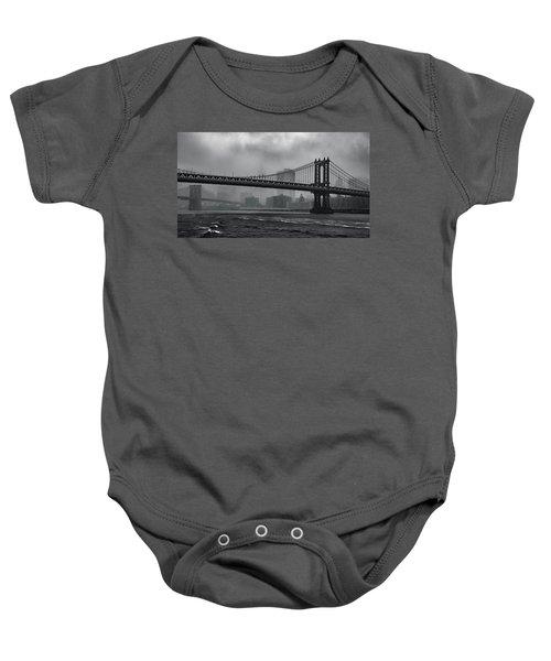Bridges In The Storm Baby Onesie