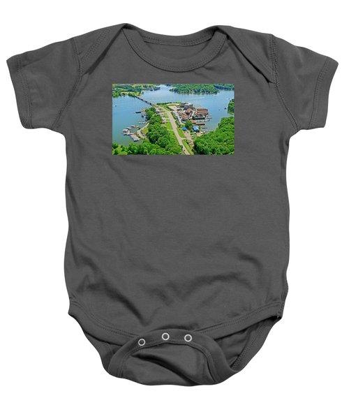 Bridgewater Plaza Aerial Baby Onesie