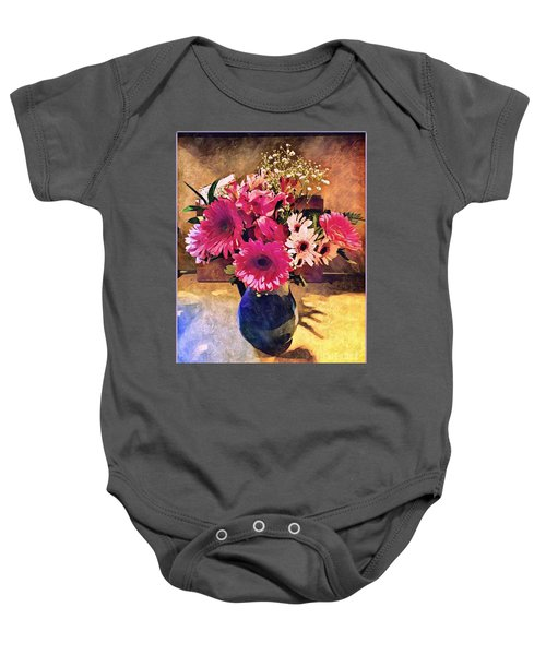 Brithday Wish Bouquet Baby Onesie