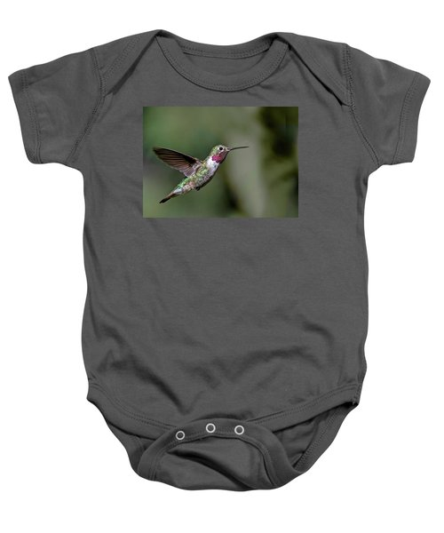 Broad-tailed Hummingbird Male Baby Onesie