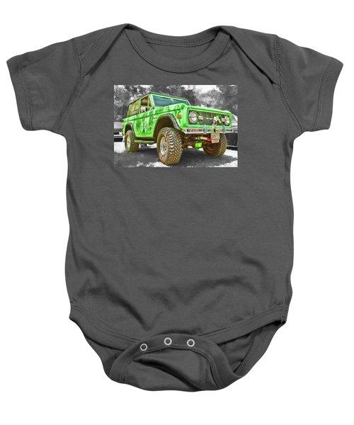 Bronco 1 Baby Onesie