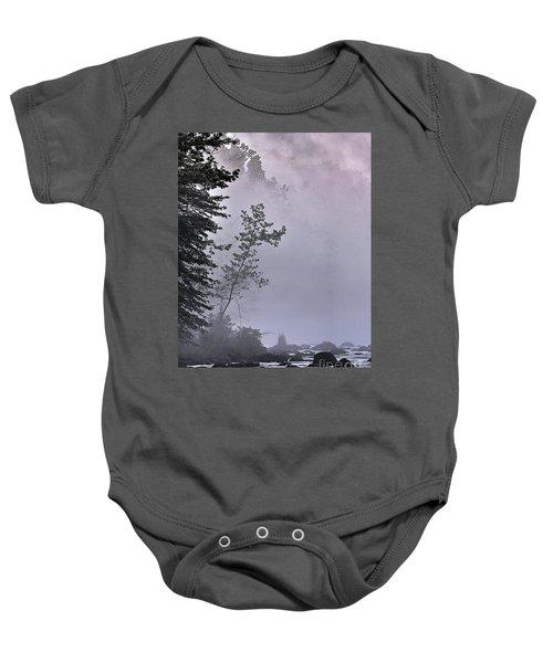 Brooding River Baby Onesie