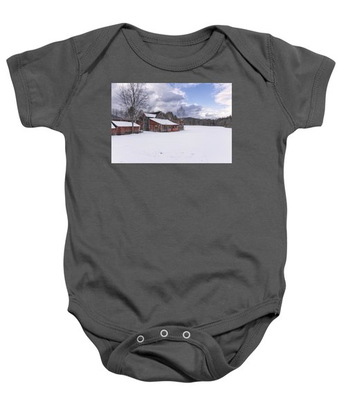 Brookline Winter Baby Onesie