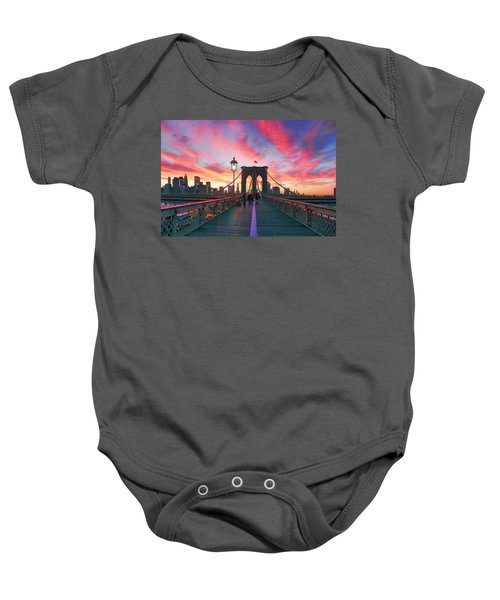 Brooklyn Sunset Baby Onesie