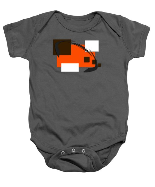 Browns Abstract Shirt Baby Onesie