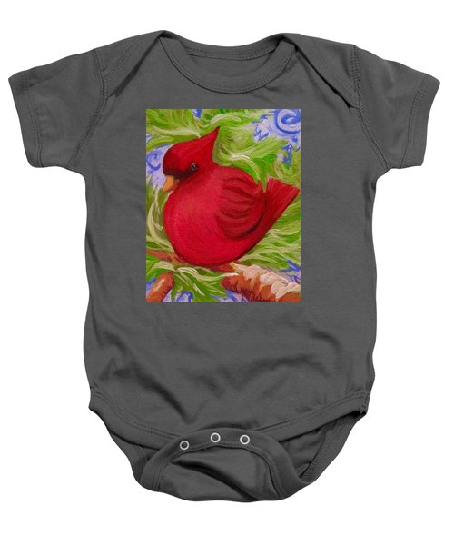 Brrr Bird Baby Onesie
