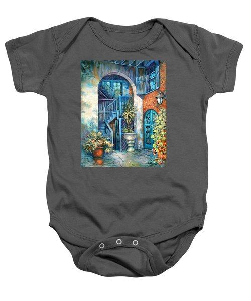 Brulatour Courtyard Baby Onesie