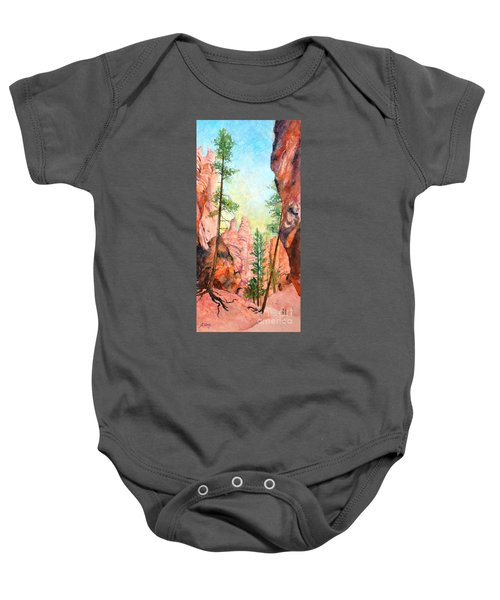 Bryce Canyon #2 Baby Onesie