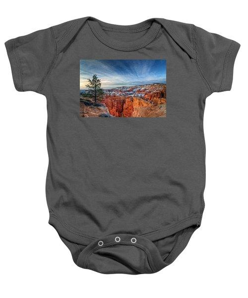 Bryce Canyon Sunrise Baby Onesie