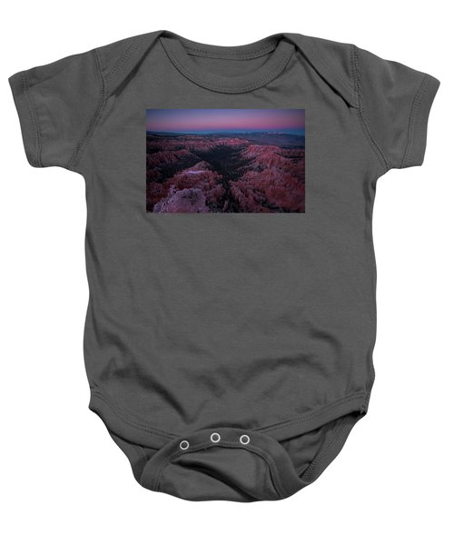 Bryce Point Baby Onesie