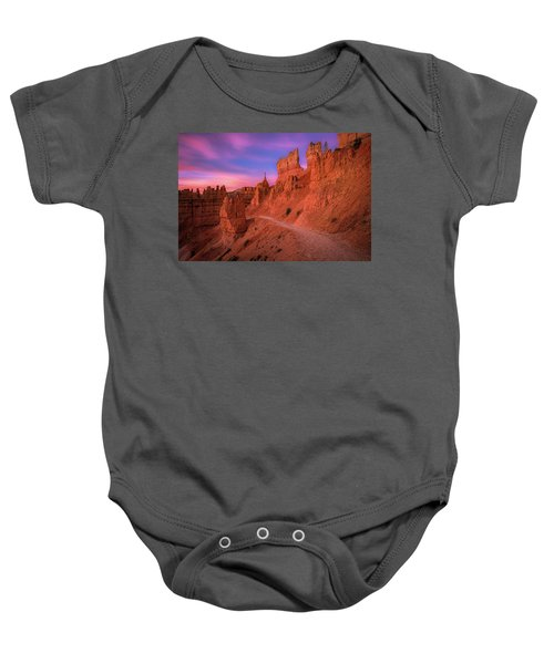 Bryce Trails Baby Onesie