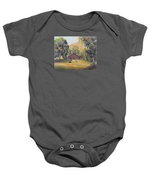 Bucks County Pa Barn Baby Onesie