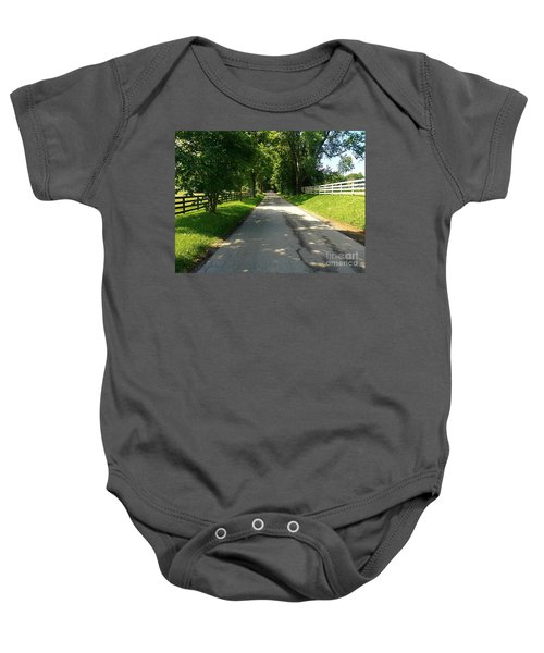 Bluegrass Morning Baby Onesie