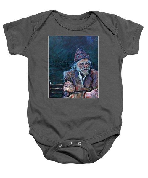 Bukowski Baby Onesie