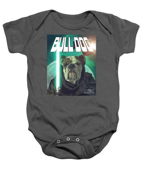 Bull Dog Wars Baby Onesie