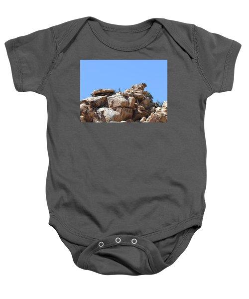 Bull From Joshua Tree Baby Onesie