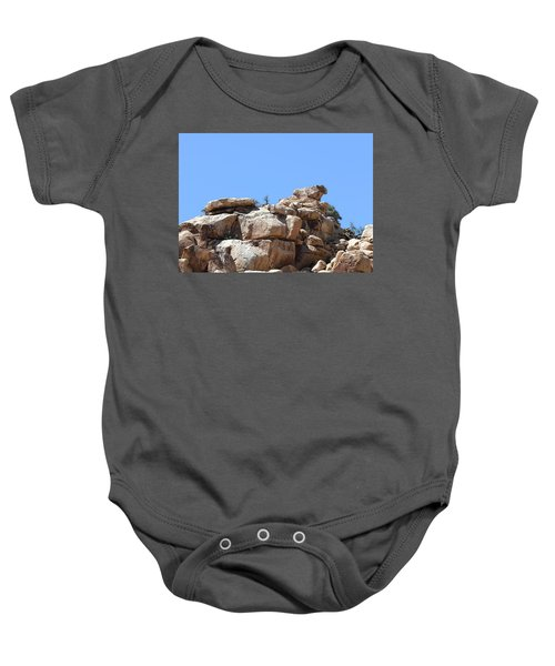 Bull From Joshua Tree Baby Onesie