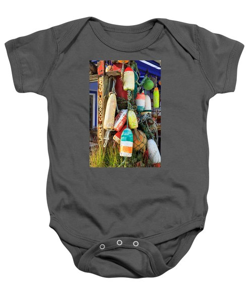 Buoys At The Crab Shack Baby Onesie