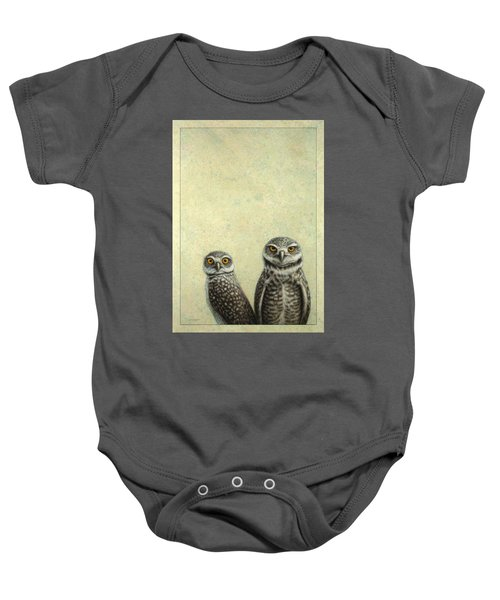 Burrowing Owls Baby Onesie