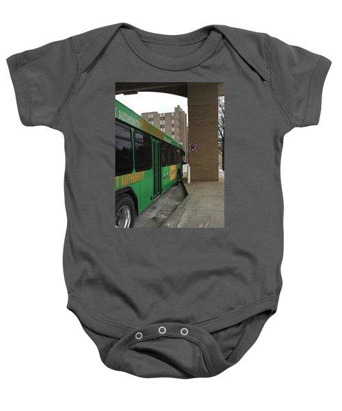 Bus Stop Baby Onesie