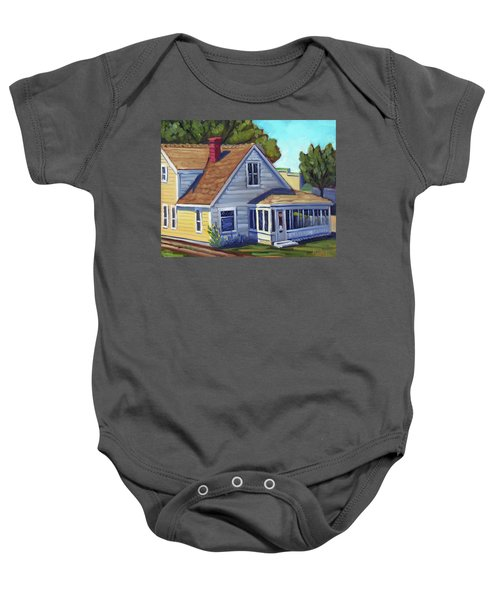 Bushnell House - Eagle Idaho Baby Onesie